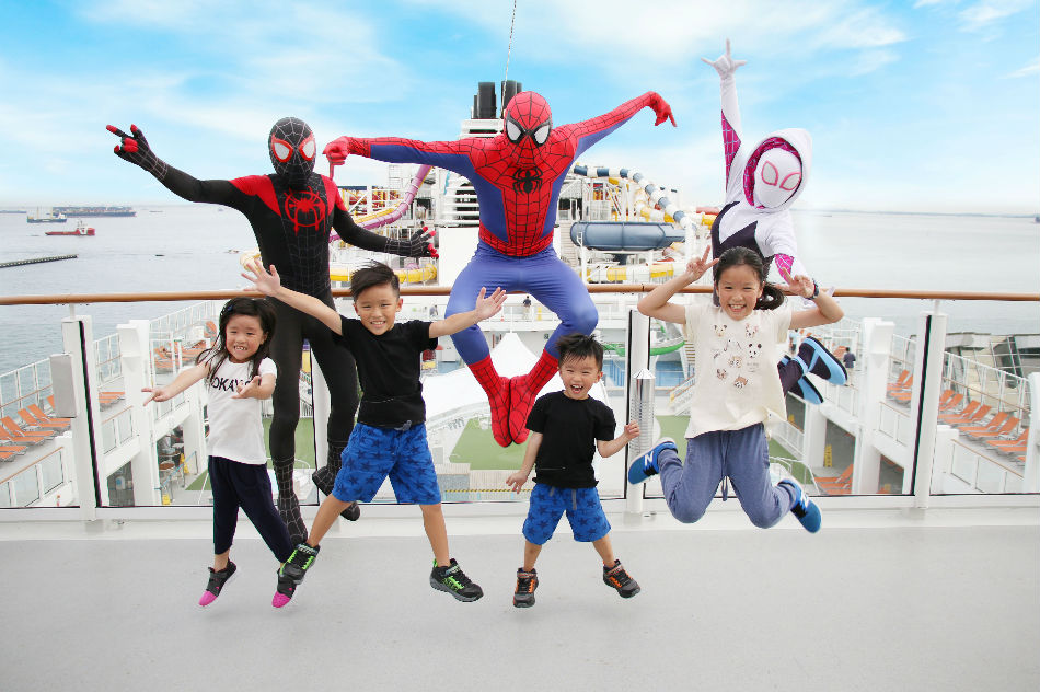 Enter the Spider-Verse with Spider-Man onboard this holiday cruise from Manila
