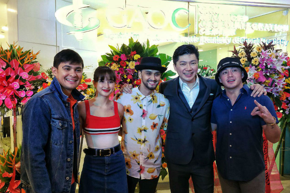 Stars show support for 10th GAOC branch grand opening