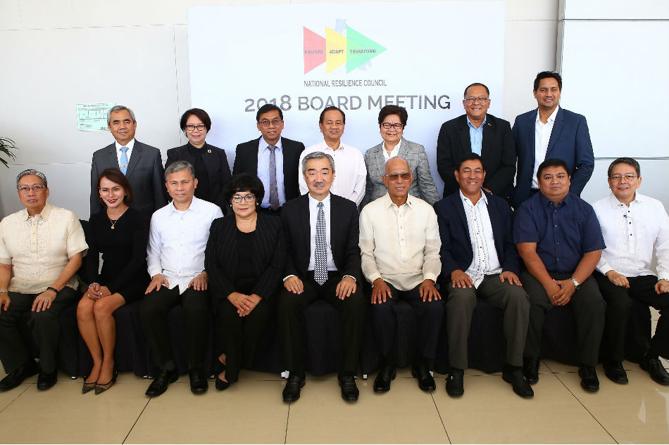 Gov't, industries ink partnerships for resilience vs disasters
