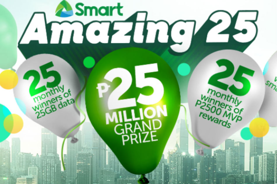 Smart celebrates 25th anniversary with biggest raffle promo