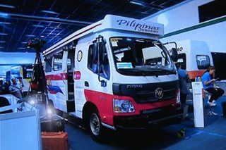PH manufacturers unveil modern jeepney prototypes