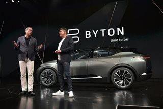 Chinese electric carmaker Byton raises $500 million to take on Tesla