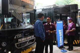 Cubao to NAIA premium buses start operations Tuesday