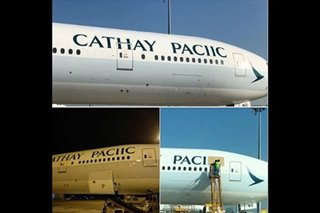 Oops! Cathay Pacific in spelling blunder?