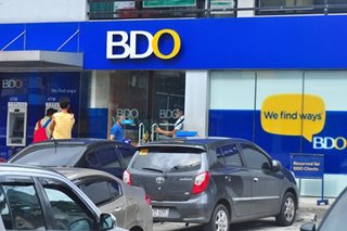 BDO says electronic banking channels restored