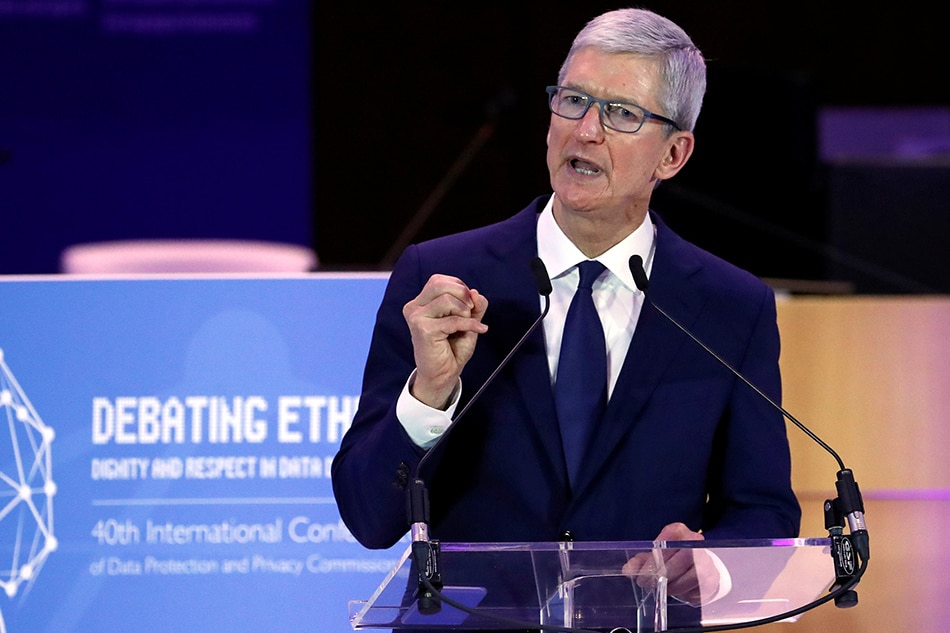 Tim Cook Warns That Personal Data Is Being 'Weaponized Against Us'