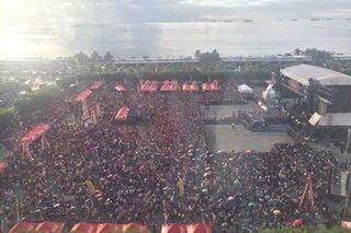 Libreng concert sa Pasay nauwi sa gulo; 50 sugatan, hinimatay
