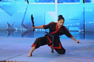 Teen martial artist brings Pinoy pride to 'Pilipinas Got Talent' stage