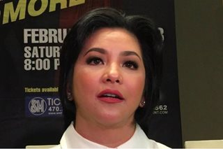 Regine sets conditions for reunion movie with Aga