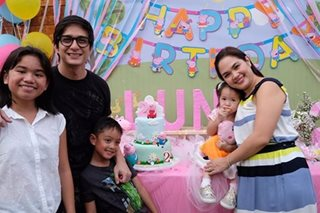 LOOK: Judy Ann's baby girl turns 2