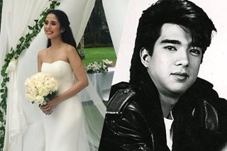 How Maxene remembered late dad Francis M on her wedding day