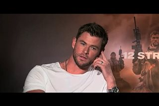 Chris Hemsworth, bibidang sundalo sa bagong pelikula