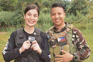 The part Anne Curtis played in dramatic video about Marawi war
