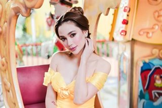 Arci dresses up as Belle for charity party to mark her birthday