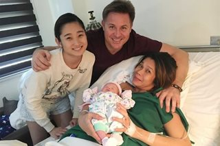 LOOK: Pokwang gives birth to baby girl