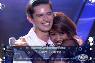 'I Can See Your Voice': Fan gets wish to sing with James Reid