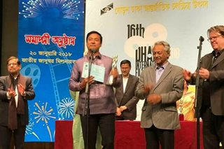 Allen Dizon named best actor in Dhaka film fest