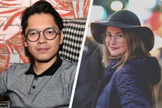Did Carlo Aquino send Angelica Panganiban a bouquet of flowers?