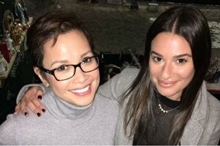 LOOK: 'Glee' star Lea Michele fangirls over Lea Salonga