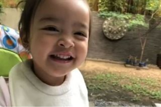 Adorable Baby Zia sings happy birthday for Kuya Kim