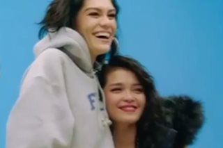 Here's why KZ Tandingan got a hug from Jessie J