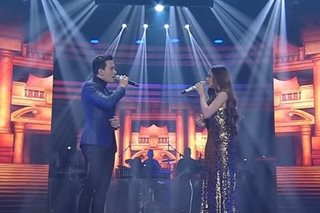Erik Santos, Morissette sing 'Never Enough' on 'ASAP'