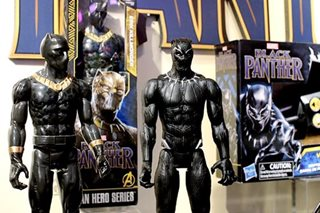 'Black Panther' toy sales fierce as film opens big