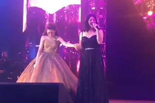 WATCH: Morissette weeps at concert as Regine joins her for duet