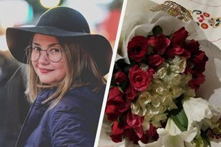 Angelica Panganiban's mystery flower sender has been revealed