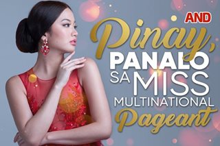 Pinay, panalo sa Miss Multinational pageant