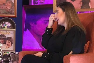 Sharon turns emotional after 'Rated K' interview