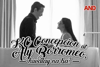 KC Concepcion at Aly Borromeo, hiwalay na ba?