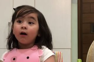 'I'm not a baby anymore': Scarlet Snow 'debates' with dad Hayden