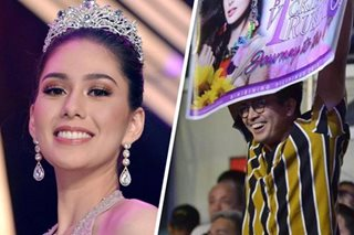 Who's your Jason? Vickie's cheering BF at Bb. Pilipinas makes Internet swoon
