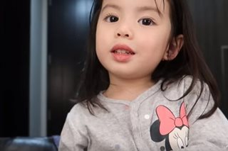WATCH: Andi Manzano's daughter Olivia tries vlogging