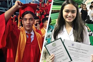 PHOTOS: 13 students bring pride to their celebrity parents