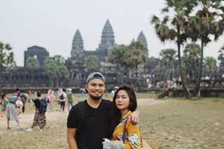 LOOK: Yeng tours Cambodia with husband