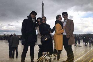 Kapamilya stars, nakisaya sa fans sa Paris