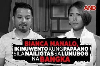 Bianca Manalo, ikinuwento kung papaano sila nailigtas sa lumubog na bangka