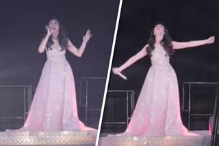 WATCH: Sarah G's stunning opening number for 'This 15 Me' concert
