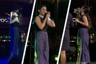 Kyla breaks down during performance as she reveals tragedy