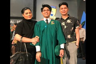 LOOK: Vhong, Bianca reunite for son's graduation