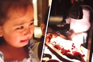 'Don't hurt the pig!' Scarlet Snow cries over lechon being chopped