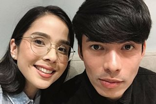 No baby plans yet for Maxene, husband