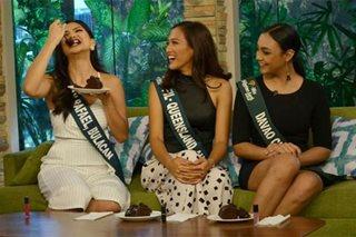 Mga dyosa ng Miss Philippines Earth, sumabak sa hamon ng 'UKG'
