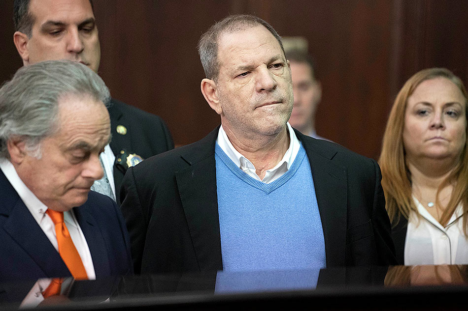 Weinstein charged with rape, sex crime in NY