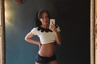 'I love being pregnant!' Jewel Mische shows off baby bump