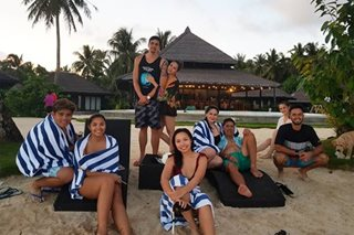 LOOK: Vic Sotto celebrates birthday with family in Siargao