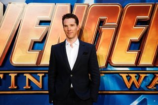 Super! Benedict Cumberbatch saves cyclist from muggers