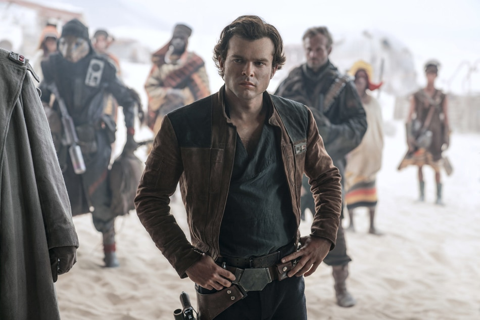 'Solo' shaping up to be the first 'Star Wars' box-office flop